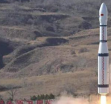 中國長征六號火箭成功發射升空 長征系列運載火箭的第351次飛行